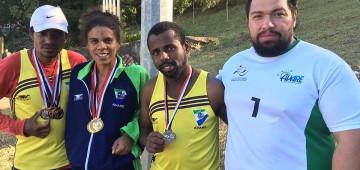 Atletismo paraolímpico conquista ouro nos Jogos Regionais