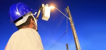 Atos de vandalismo prejudicam a iluminação pública