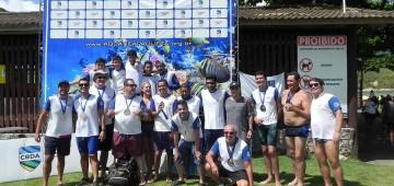 Natação de Avaré fica em 3º no Paulista de Maratonas Aquáticas