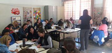 Cerca de 80 professores participaram da Capacitação
