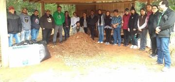 Secretaria desenvolve projeto-piloto sobre compostagem no Horto Florestal