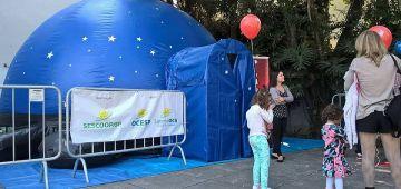 Planetário Móvel será atração no Centro Cultural