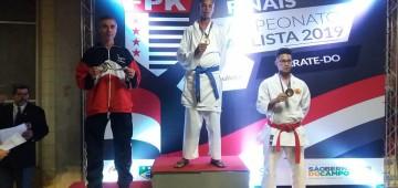 Atleta de Avaré ganha medalha de ouro em Campeonato Paulista de Karatê