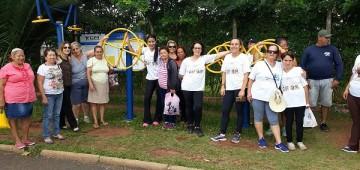 CRAS III fez caminhada para comemorar o Dia da Mulher