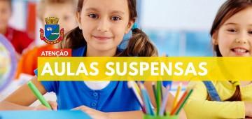Prefeitura suspende aulasem toda a rede municipal de ensino