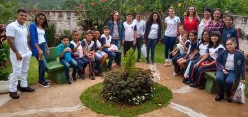 Alunos da rede municipal desenvolvem projeto em asilo