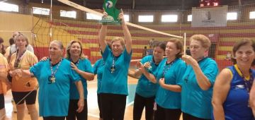 Vôlei Feminino Adaptado de Avaré conquista título da Liga de Bauru