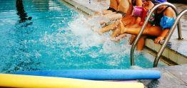 Aulas na piscina municipal retornarão segunda-feira