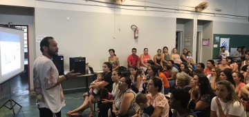 Bullyng é tema  de palestra na Rede Municipal de Ensino