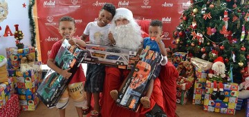 Eventos natalinos marcam encerramento do ano para o Fundo Social