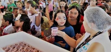 Hamburgada do Bem atraiu mais de 400 crianças