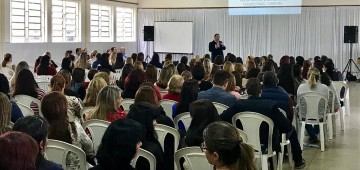 Secretaria promove palestras para a Rede Municipal
