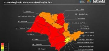 Região de Avaré é rebaixada para a Fase Vermelha do Plano SP
