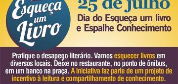 Biblioteca convoca para campanha