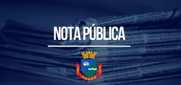 Prefeitura esclarece sobre posicionamento enviado ao jornal