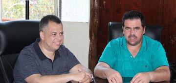 Prefeito recebeu visita do Deputado Estadual