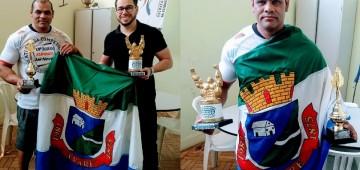 Avareense é campeão mundial de supino