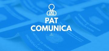 PAT não anunciará vagas de emprego esta semana