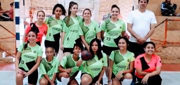 Handebol feminino vai à final da Liga Regional