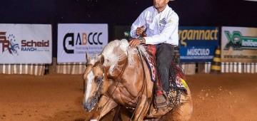 Competição da Associação Nacional do Cavalo de Rédeas tem início nesta quarta