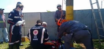 Equipes do SAMU realizam treinamento de resgate