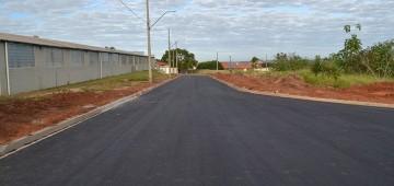 Pavimentação da Rua Albânia é concluída