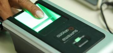Cerca de 40% dos eleitores ainda não fizeram o cadastro biométrico