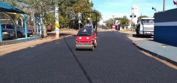 Secretaria de Serviços promove recapeamento em trecho da Rua Jango Pires