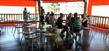 Semads fez passeios no Hotel Ibiquá com famílias assistidas