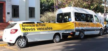 Prefeitura adquire mais dois veículos 0 km