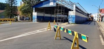Terminal urbano da Major Rangel começa a ser desmontado