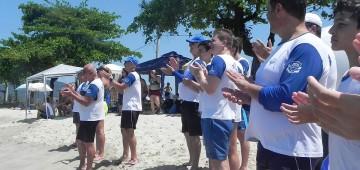 Natação conquista 2º lugar em maratona de Ubatuba