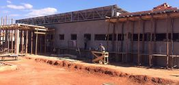 Obras da UBS do Jardim Dona Laura estão adiantadas