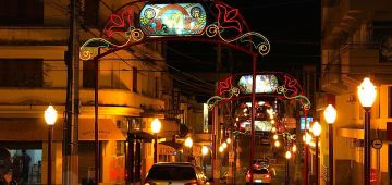 Ruas e Avenidas de Avaré já estão no clima de Natal