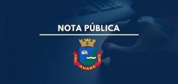 Prefeitura não proibiu empresa de se instalar em Avaré