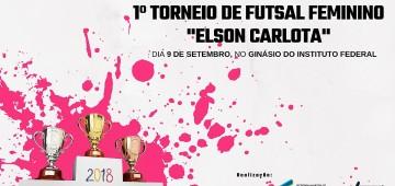 Começa neste domingo o 1° Torneio de Futsal Feminino