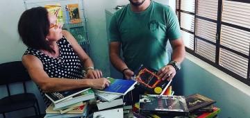 Biblioteca arrecadou cerca de mil livros para o acervo municipal