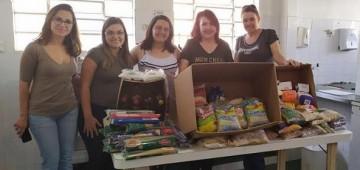 Secretaria da Pessoa com Deficiência doa alimentos a entidade assistencial