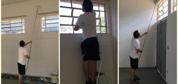 Serviços de pintura adiam eventos no Museu Municipal