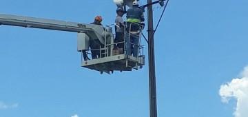 Campo Municipal recebe nova iluminação