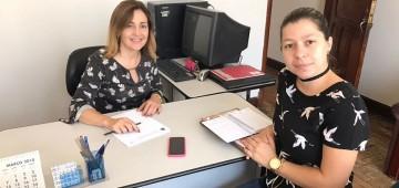 Técnica da Fussesp faz visita ao Fundo Social de Avaré