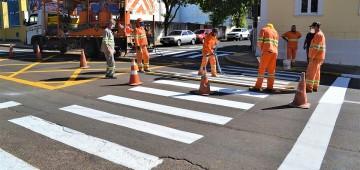 Mudança em sinalização viária vai melhorar trânsito na região central