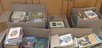 Fundo Social recebe doação de livros