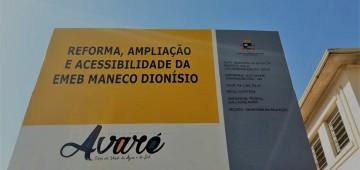 Prefeitura da inicio à reforma da EMEB Maneco Dionísio