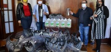 Instituto Federal doa máscaras e álcool em gel para a Prefeitura de Avaré
