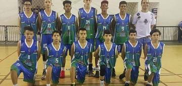 Jogando em casa, basquete Sub-15 de Avaré vence adversário de Bauru