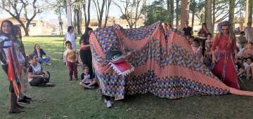 Centenas de alunos vibraram na Quinzena do Folclore