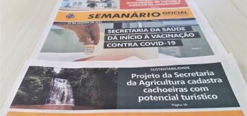 Semanário Oficial chega à milésima edição