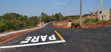 Pavimentação do Jardim Califórnia é inaugurada