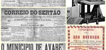 História da imprensa escrita de Avaré é contada em mostra